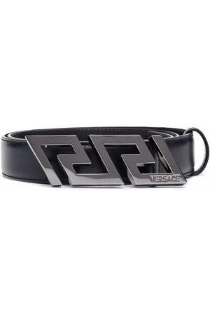 VERSACE Men Belts - Greca buckle belt