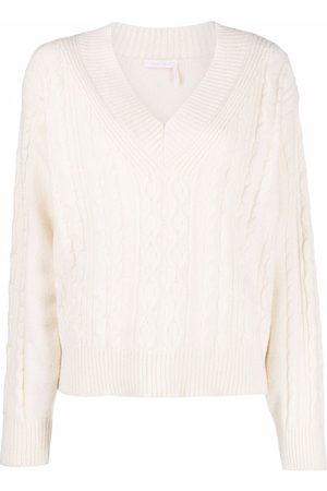 See by Chloé Cable-knit pullover jumper