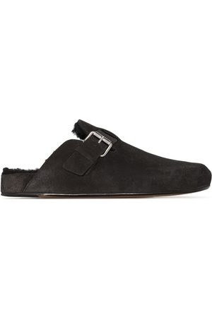 Isabel Marant Shearling-lined suede mules