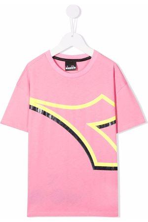 Diadora Graphic-print cotton T-Shirt