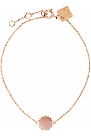 GINETTE NY 18kt yellow Mini Ever mother-of-pearl disc bracelet