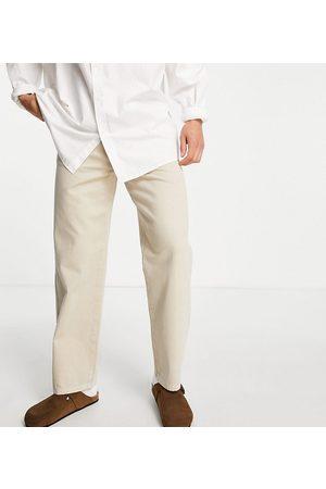 COLLUSION X005 straight leg jeans in ecru