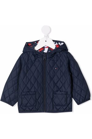 Tommy Hilfiger Abstract-print quilted jacket