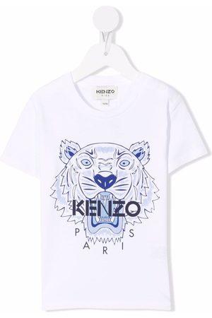 Kenzo Tiger Head motif cotton T-Shirt