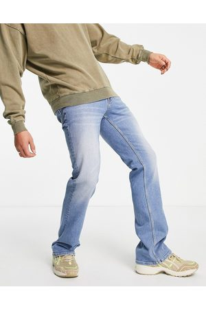 ASOS Flared jeans in mid wash