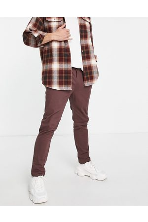 ASOS Skinny chinos with elasticated waist in