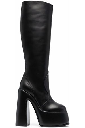 Casadei Platform leather boots