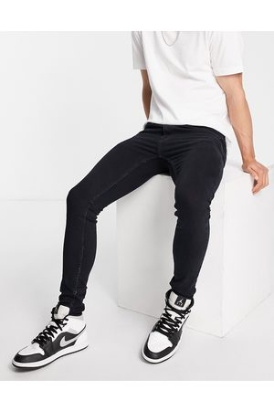 Topman Spray on skinny jeans in washed