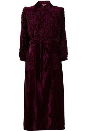 A.N.G.E.L.O. Vintage Cult 1950s textured velvet maxi dress