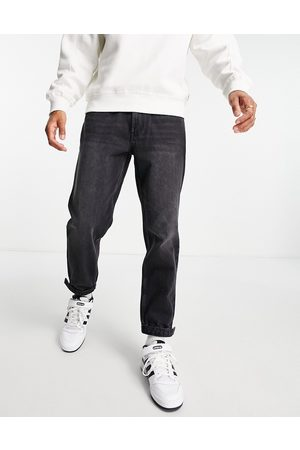 Topman Denim joggers in washed