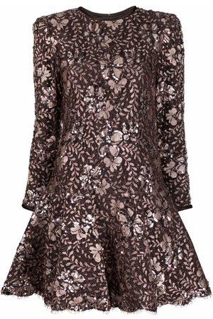 A.N.G.E.L.O. Vintage Cult 1980s floral pattern flared dress