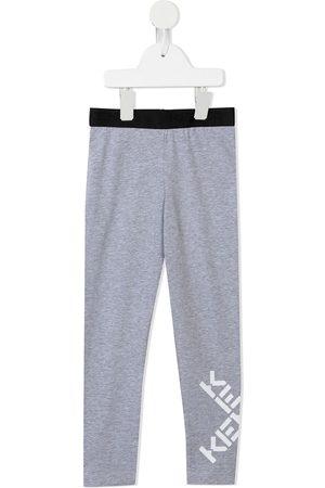 Kenzo Logo-print cotton leggings