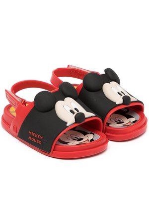 Mini Melissa Mickey-embellished sandals