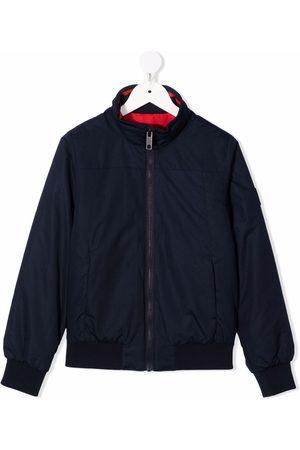 HUGO BOSS Concealed-hooded jacket