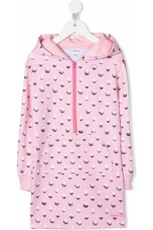 The Marc Jacobs Dots Icing-print hooded dress