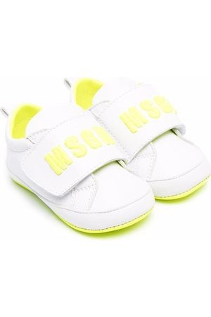 Msgm Baby Sneakers - Logo strap sneakers