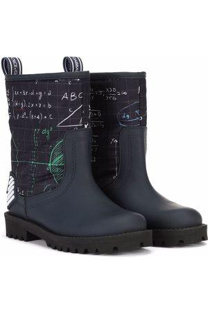 Dolce & Gabbana Algebra-print ankle boots