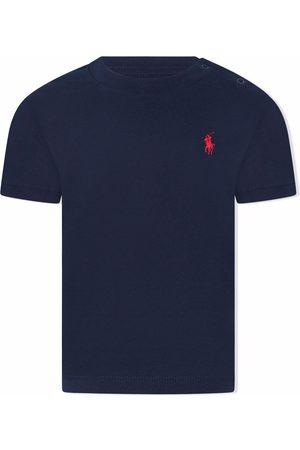Ralph Lauren Logo-embroidered cotton T-shirt