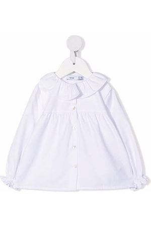 KNOT Ruffle collar blouse