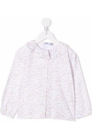 KNOT Girls Blouses - Soft flowers cotton blouse