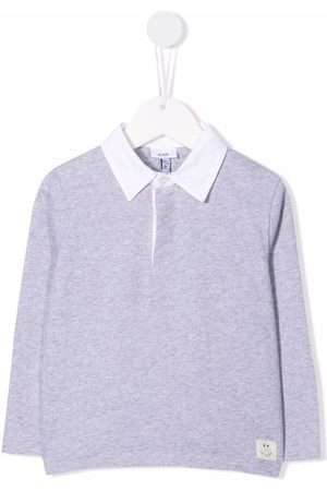 KNOT Long-sleeved polo shirt