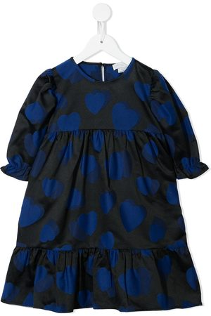 Stella McCartney Heart-print empire-line dress