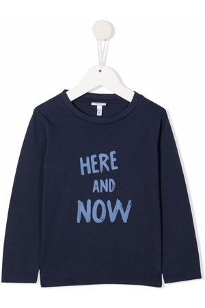 KNOT Here And Now slogan-print T-shirt