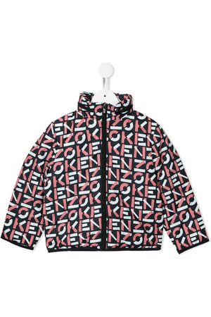 Kenzo Logo-print zip-up jacket