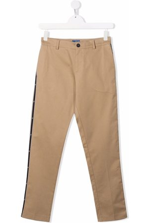 FAY KIDS TEEN four-pocket stretch-cotton trousers