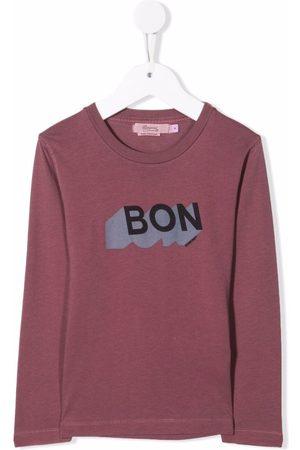 BONPOINT Logo-print cotton T-shirt