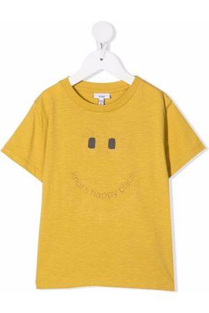 KNOT Smile print T-shirt