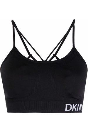 DKNY Strappy low-impact sports bra