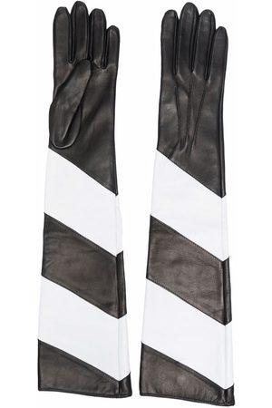 Manokhi Striped long gloves