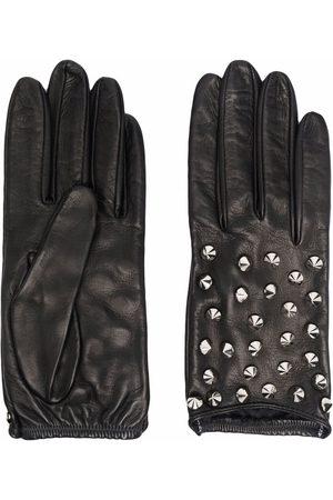 Manokhi Studded leather gloves