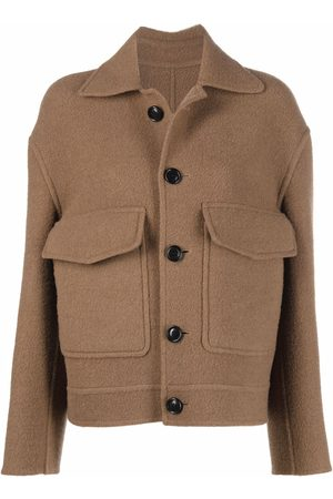 Ami Single-breasted wool coat