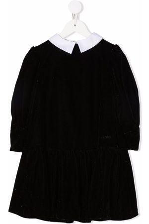 Emporio Armani Logo-print long-sleeved dress