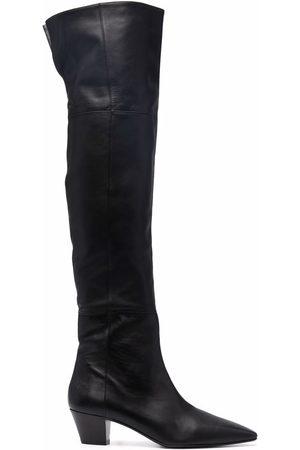 Aquazzura Gainsbourg 50mm boots