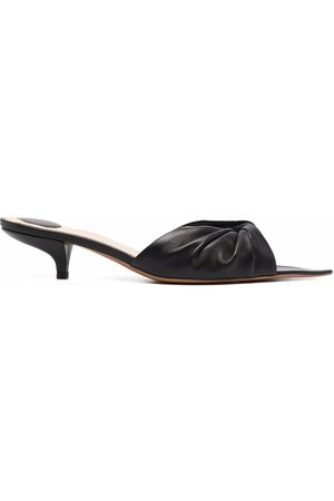 Angelo Figus Women Sandals - Pointed toe knot mules