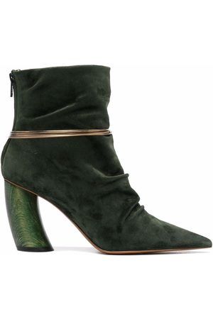 Angelo Figus Ring detail ankle boots