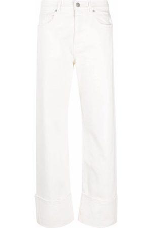P.a.r.o.s.h. High-rise straight-leg trousers
