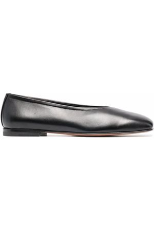 NEW STANDARD Love leather ballerina shoes