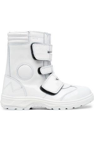 JUNYA WATANABE Calf-length touch-strap boots
