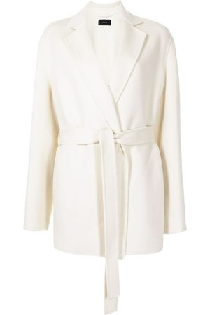 Joseph Notched-lapel tied-waist coat