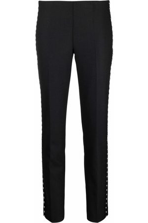 P.a.r.o.s.h. Studded slim fit trousers