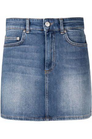 Chiara Ferragni Eye Star denim mini skirt