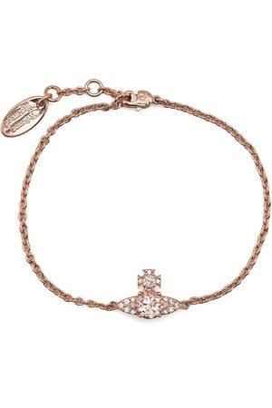 Vivienne Westwood Crystal-embellished Orb charm bracelet