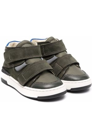 MONTELPARE TRADITION Touch strap high-top sneakers