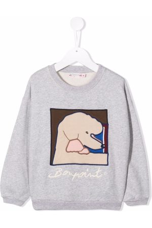 BONPOINT Graphic poodle sweatshirt