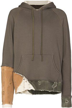 GREG LAUREN Fragment cotton hoodie