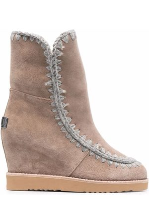 Mou Women Ankle Boots - Wedge ankle boots